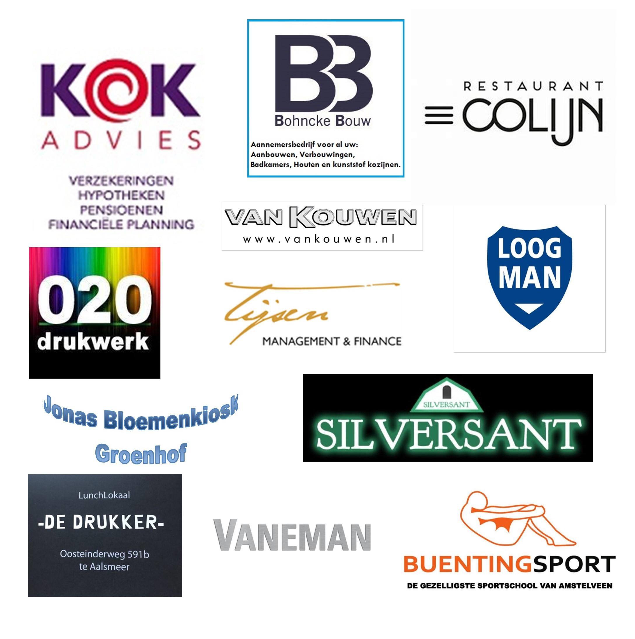 Sponsors Kerstloop 2019
